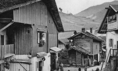 Village La Clusaz 1950